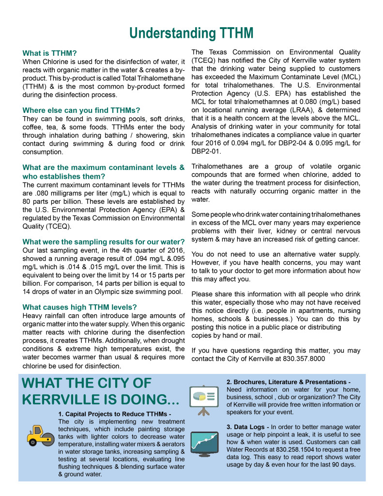City of Kerrville TTHM Public Notice 011920172