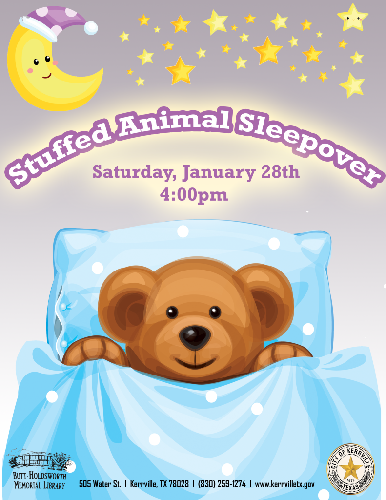 Stuffed Animal Sleepiover